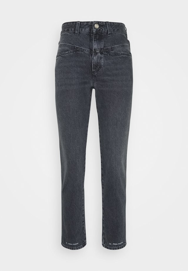 PEDAL PUSHER - Jean droit - mid grey