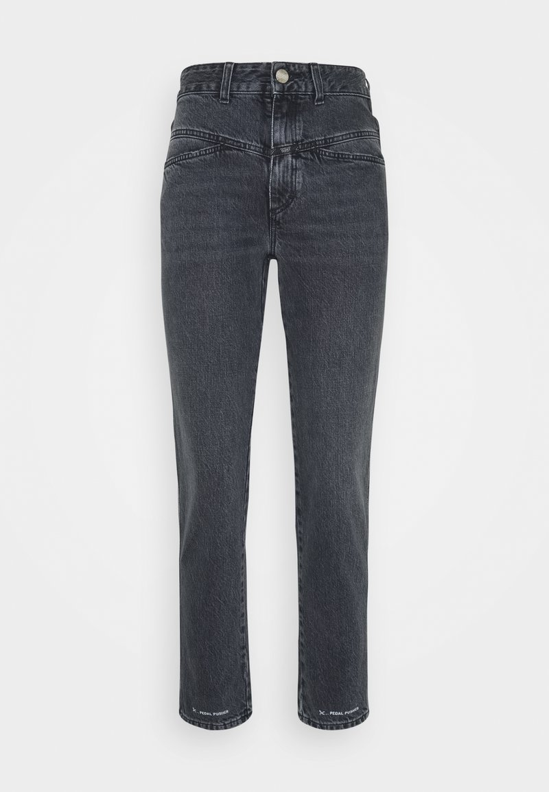 CLOSED - PEDAL PUSHER - Straight leg jeans - mid grey