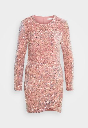 BELIVE IN DREAMS DRESS - Vestido de cóctel - dusty pink