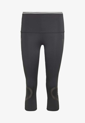 AEROREADY PRIMEBLUE CAPRI 3/4 TIGHT - Leggings - black