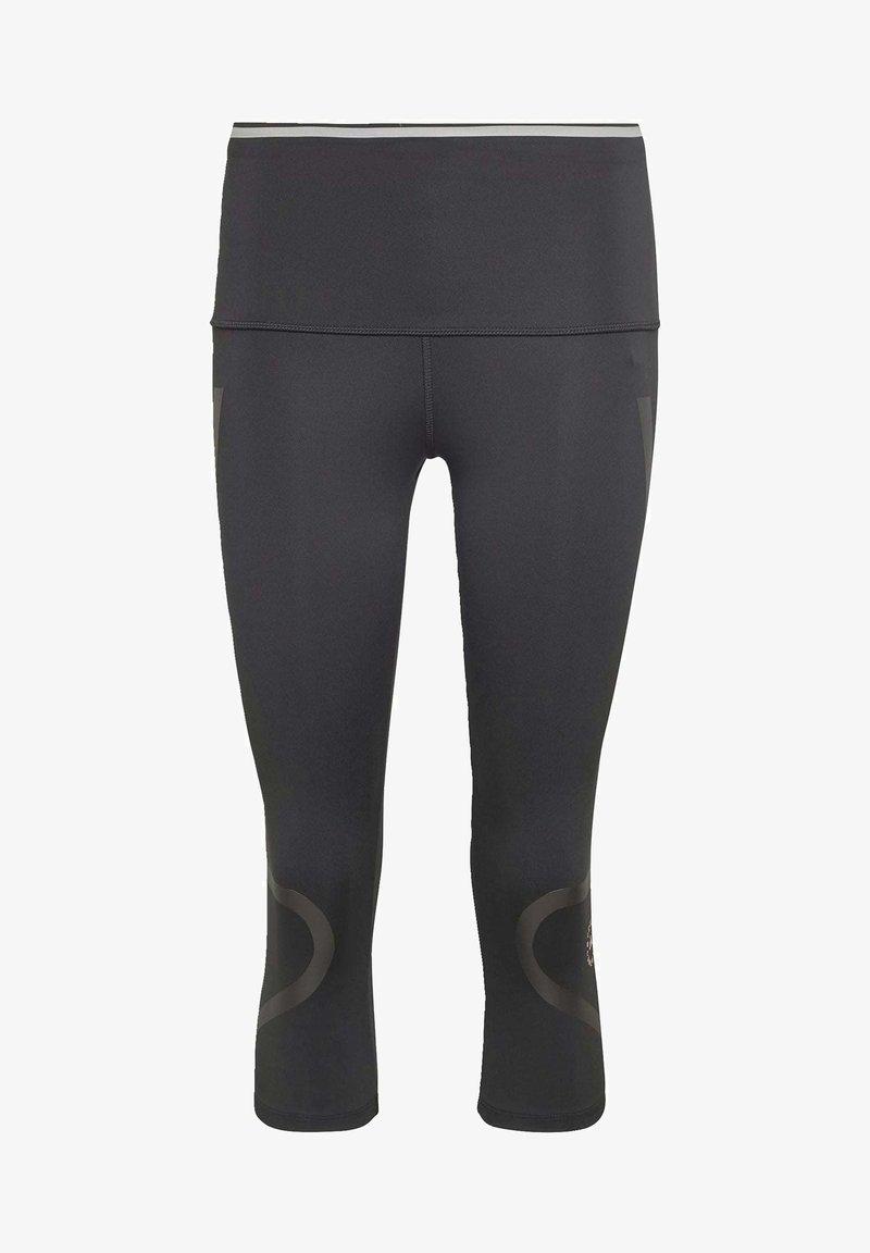 adidas by Stella McCartney - AEROREADY PRIMEBLUE CAPRI 3/4 TIGHT - Medias - black