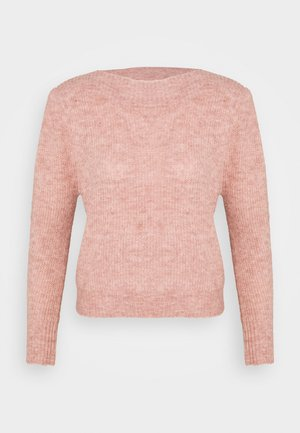 YASIDALS BOATNECK - Jumper - ash rose