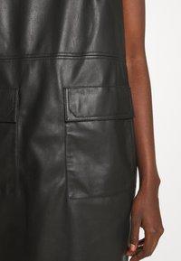 Trussardi - DRESS SOFT - Day dress - black - 3