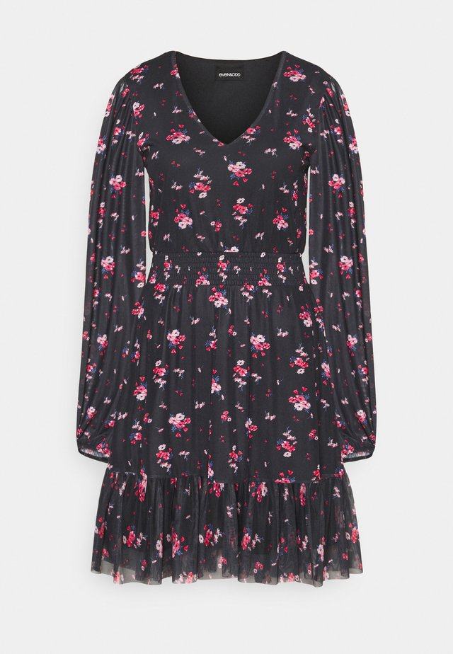 Vestito estivo - black/multi-coloured