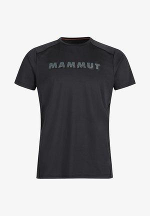 SPLIDE - T-shirt z nadrukiem - black