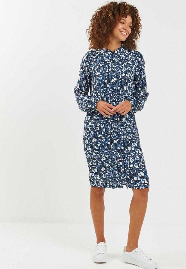 Košilové šaty - blue