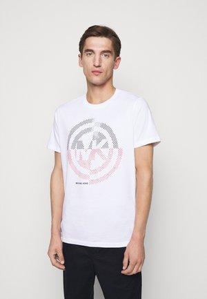 TARGET TEE - T-shirt con stampa - white