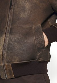 Schott - LCDAKOTA - Leather jacket - brown - 5