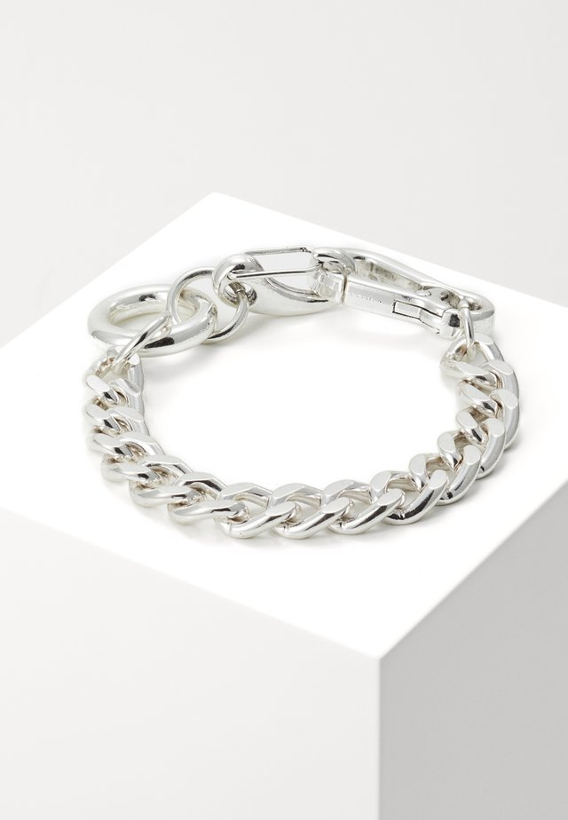 SECTION CHAIN BRACELET - Armbånd - silver-coloured