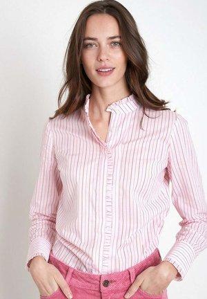 Button-down blouse - rose pâle