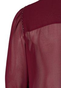 Zizzi - Button-down blouse - red - 4