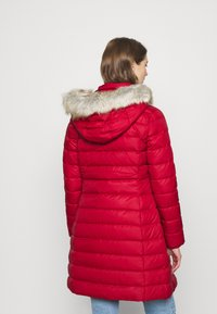 Tommy Jeans - ESSENTIAL HOODED COAT - Down coat - wine red - 2