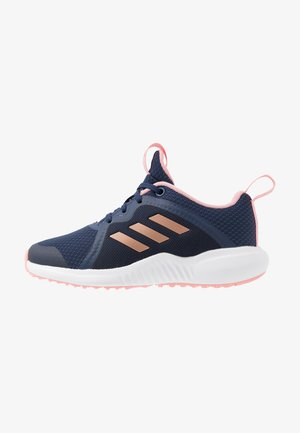 FORTARUN X - Neutral running shoes - tech indigo/copper metallic/glow pink