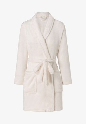 KUSCHELIG WARMER WEICHER - Dressing gown - white