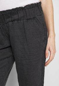 LOVE2WAIT - PANTS LINNEN TOUCH - Trousers - charcoal - 4
