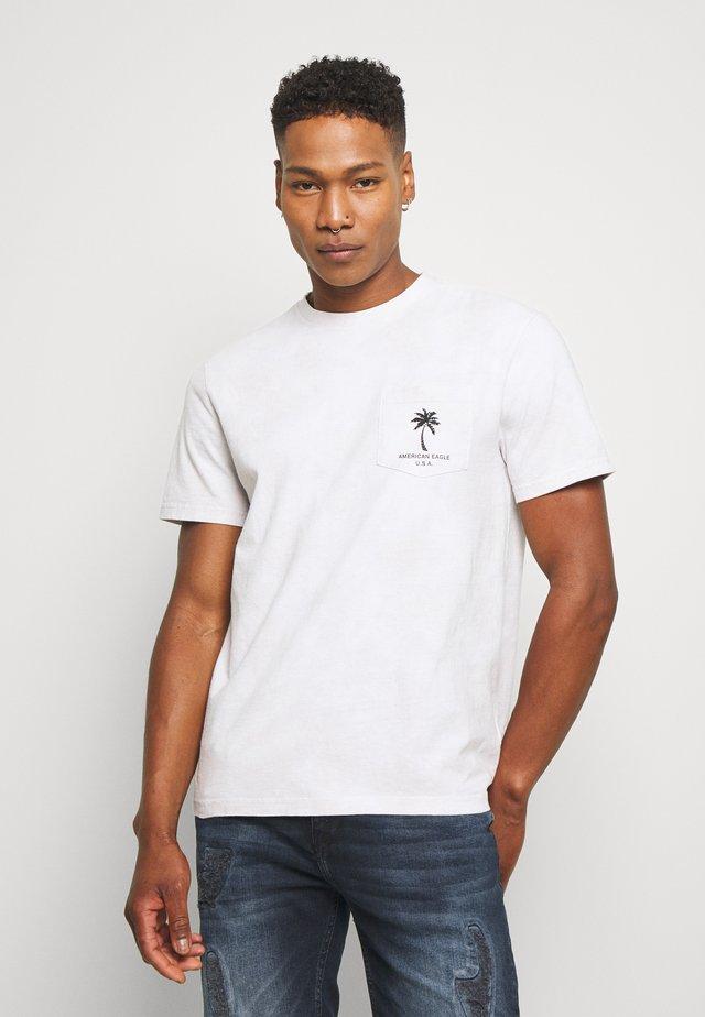 SET IN TIE DYE - Print T-shirt - gray