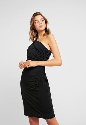 YASKASA ONE SHOULDER DRESS - Jerseykjole - black