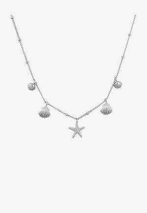 MUSCHELN SEESTERN KUGEL - Necklace - silber