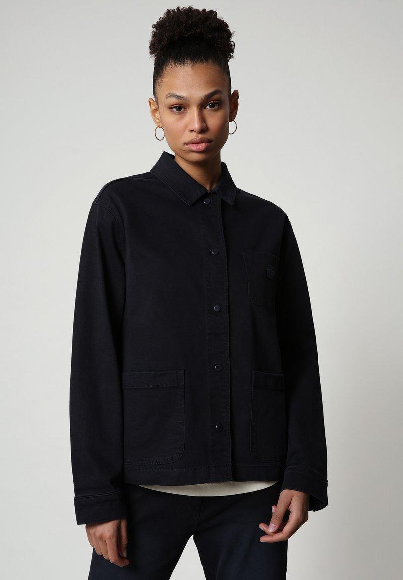 Napapijri - ALIE - Denim jacket - blu marine