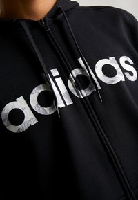 adidas Performance - CAMO LIN - Sweatjacke - black/white/grey one - 6