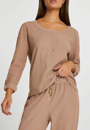 Pyjamashirt - beige
