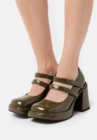 Jeffrey Campbell - ARLON - High heels - khaki - 0