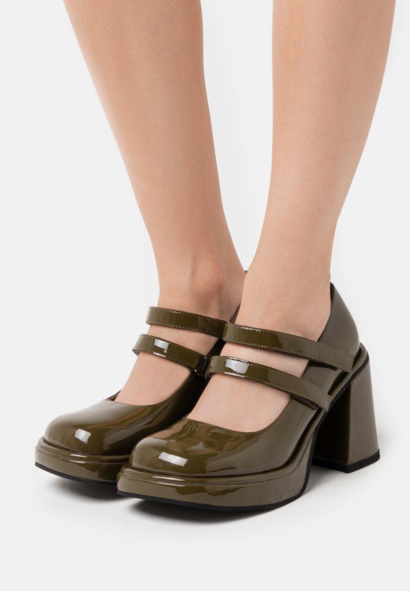Jeffrey Campbell - ARLON - High heels - khaki