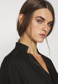 G-Star - MILARY V NECK SHIRT DRESS L\S - Vestido informal - black - 3