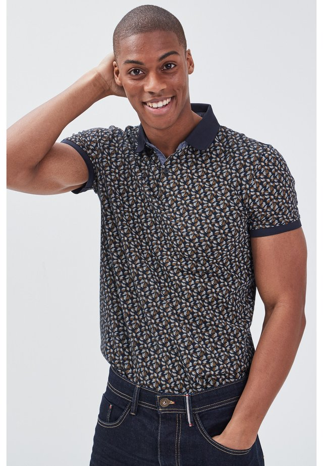 Polo shirt - bleu marine