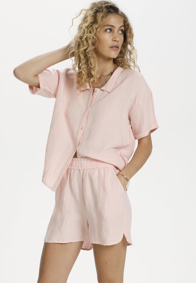 Button-down blouse - english rose