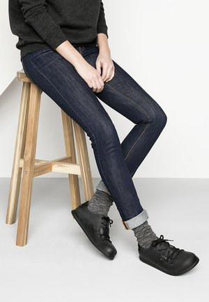 MONTANA  - Casual lace-ups - black