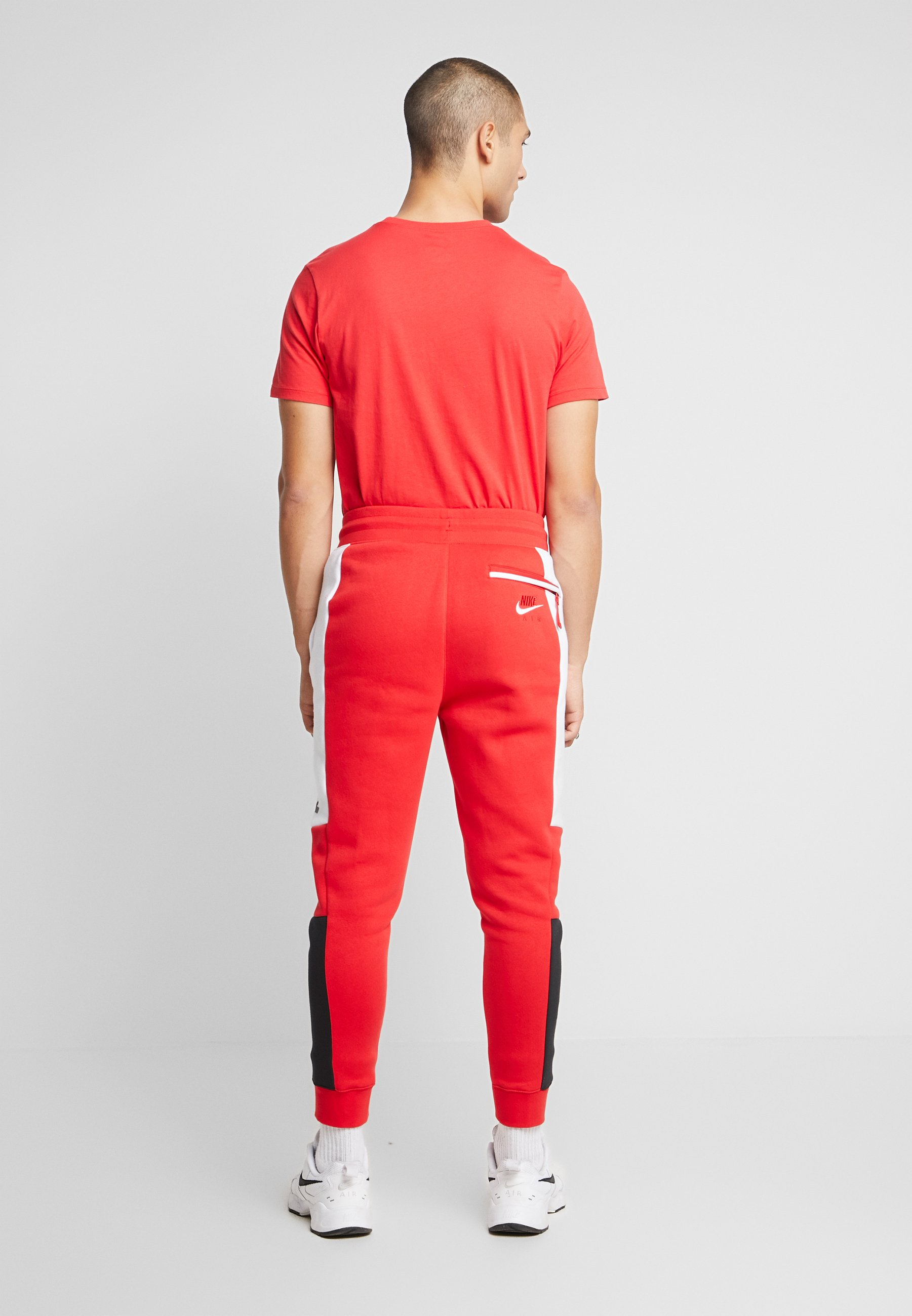 Nike Sportswear M NSW NIKE AIR PANT FLC - Pantalon de survêtement - university red/white/black