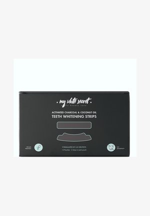 CHARCOAL TEETH WHITENING STRIPS - Tandverzorging - -