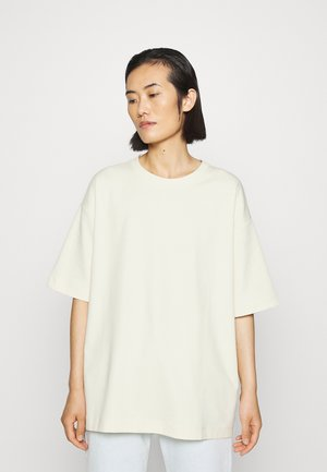 T-shirts basic - white dusty light