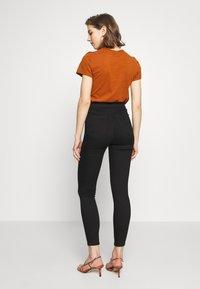 Topshop - PURE JONI - Jeans Skinny Fit - black - 2