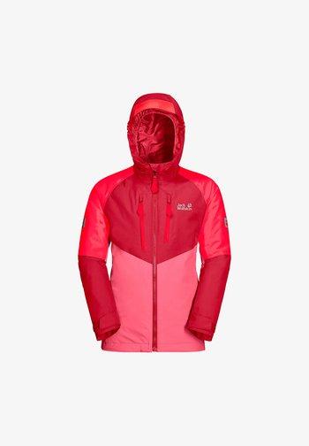 GREAT SNOW  - Ski jacket - coral pink