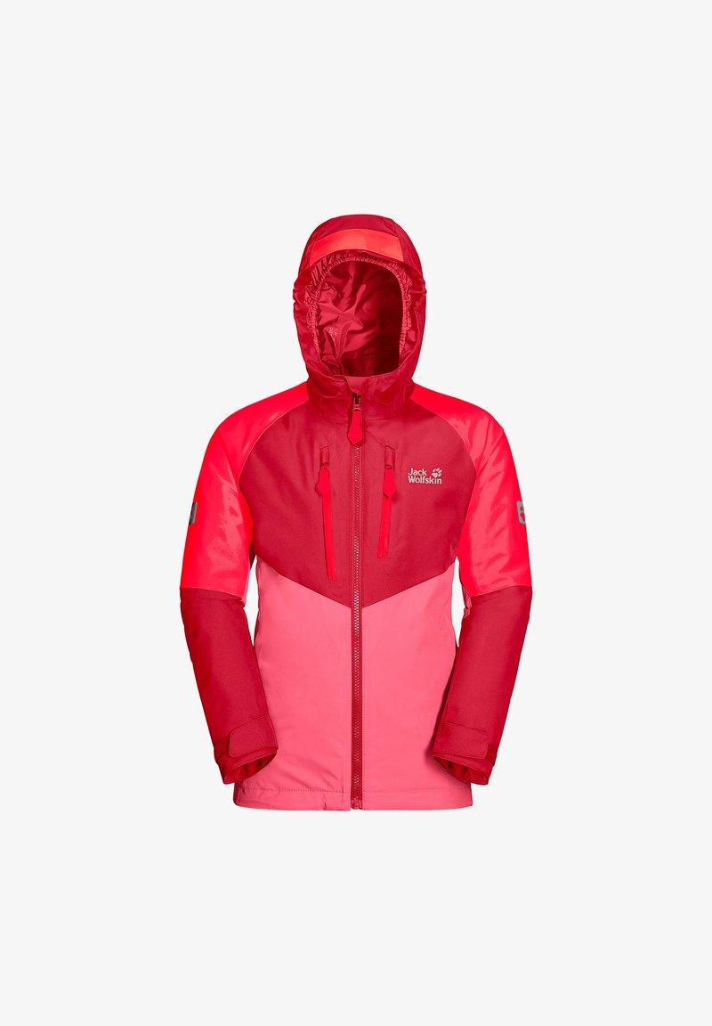 Jack Wolfskin - GREAT SNOW  - Ski jacket - coral pink
