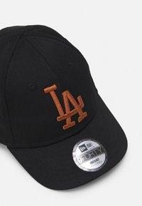 New Era - LEAGUE 9FORTY Y LEAGUE LOS ANGELES DODGERS BABY UNISEX - Cap - black - 3