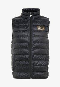 EA7 Emporio Armani - JACKET VEST - Waistcoat - black - 3