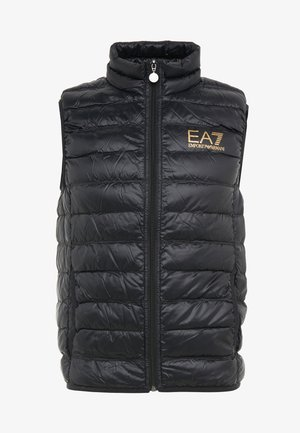 JACKET VEST - Väst - black