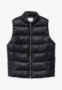 RISE - Waistcoat - schwarz