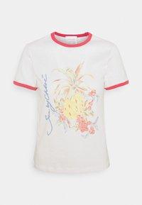 See by Chloé - Print T-shirt - crystal white - 0