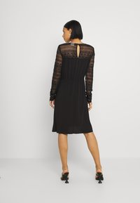 Vila - VIURIS LACE DRESS - Day dress - black - 2