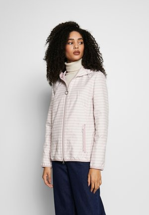 INBETWEEN - Summer jacket - rose/ offwhite