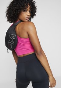 Fila - WAIST BAG SLIM - Bum bag - black - 5