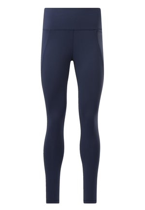 REEBOK LUX HIGH-RISE TIGHTS 2.0 - Medias - blue