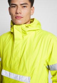 INDICODE JEANS - COLLEGE - Windbreaker - neon yellow - 4