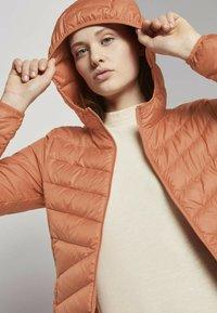 TOM TAILOR DENIM - Light jacket - dull coral - 3
