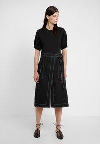 3.1 Phillip Lim - TOPSTITCH - Day dress - black - 0