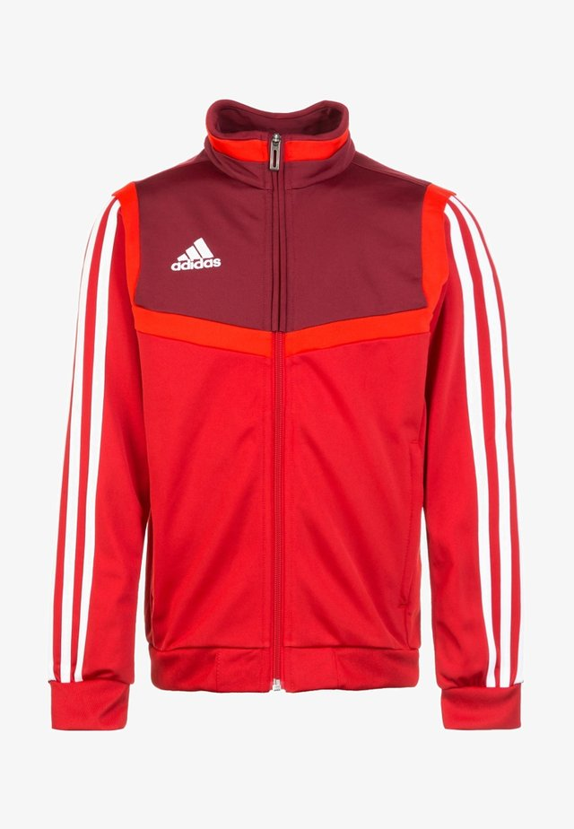 TIRO 19 POLYESTER TRACK TOP - Training jacket - power red / white